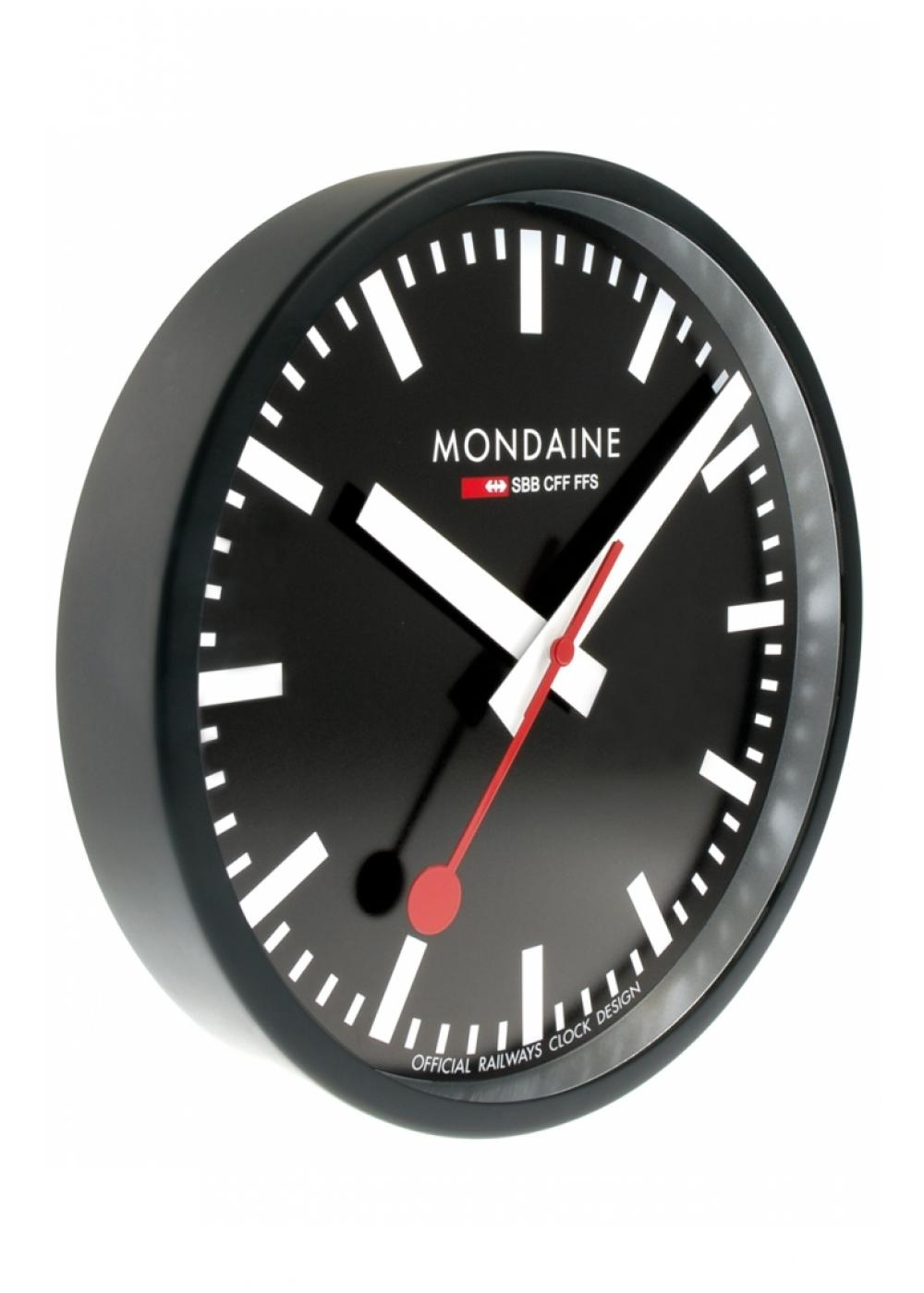 A990 mondaine wall clock 250mm official - Swiss railway wall clock ...
